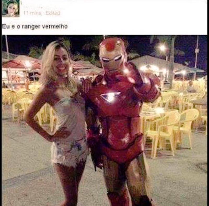 Ranger Vermelho?